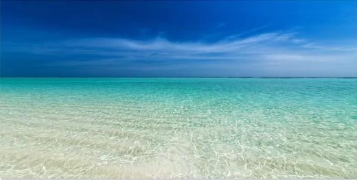 Turquoise Ocean Photo Print