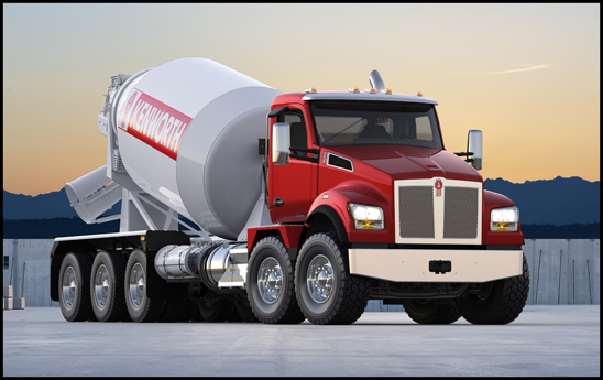 Kenworth T880S Twin Steer