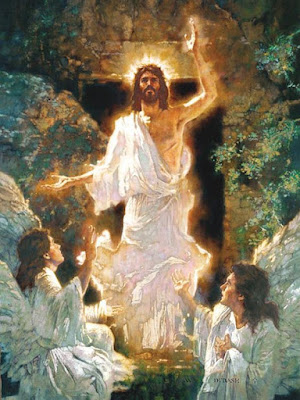 The Resurrection of Jesus Prophetic art painting, Brothers Hildebrandt