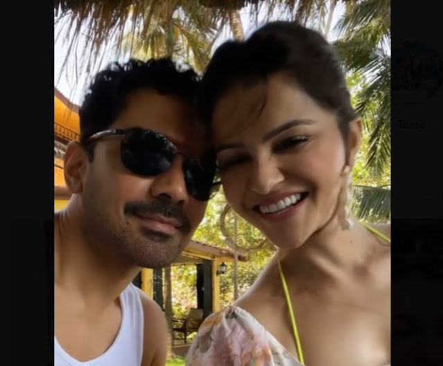 Rubina Dilak (Rubina Dilaik) has made a romantic video withhusband Abhinav Shukla (Abhinav Shukla) which she has also shared on social media.