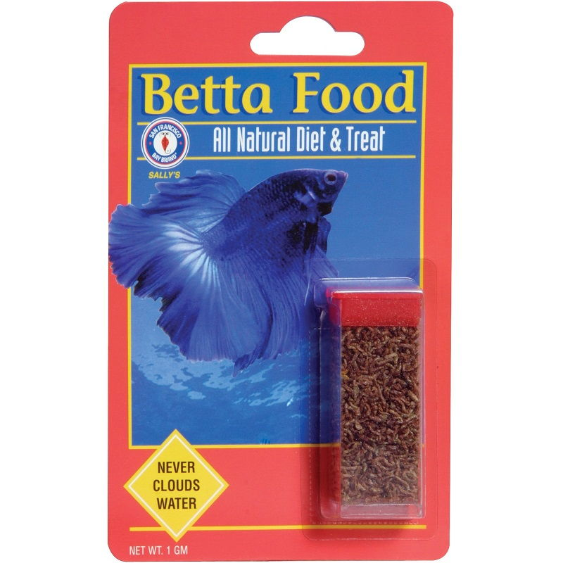 Image Betta Fish Food Care-San Francisco Bay Brand Freeze-Dried Betta Food, 1 g