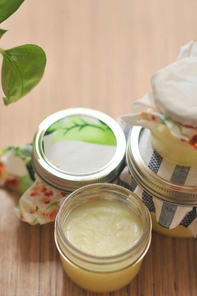 DIY: Make Your Own Winter Body Balm by Kiku Corner featured at Pieced Pastimes