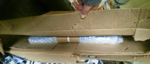 eFRAME secure packaging protects your order in transit
