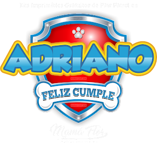 Logo de Paw Patrol: Adriano