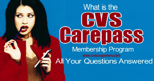CVS Carepass Membership - What is it?