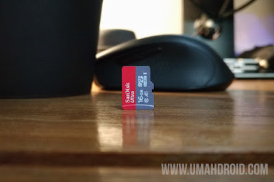 Review MicroSD SanDisk Ultra 16GB Class 10