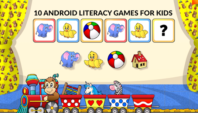 Best learning games for kids on android marketplace