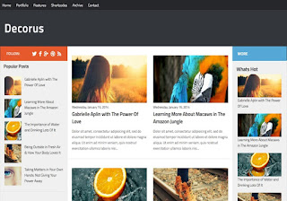 Indonesia Free Blogger Template