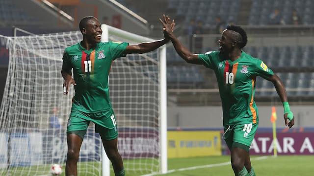 Tras los últimos resultados de la eliminatoria africana, Zambia casi elimina a Argelia del mundial