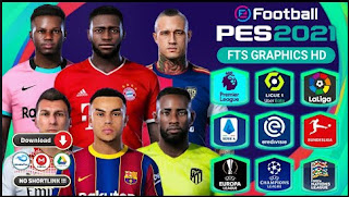 Download FTS Mod PES 2021 LITE Special Full Eropa Edition & Final Update Winter Transfer