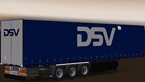 DSV trailer Krone