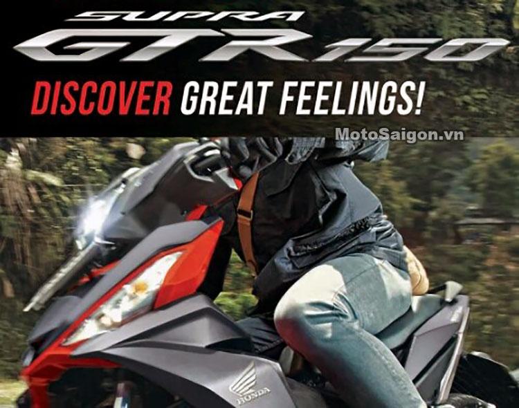 Honda akan merilis motor baru bulan Mei ini . . Honda Supra GTR 150 ?
