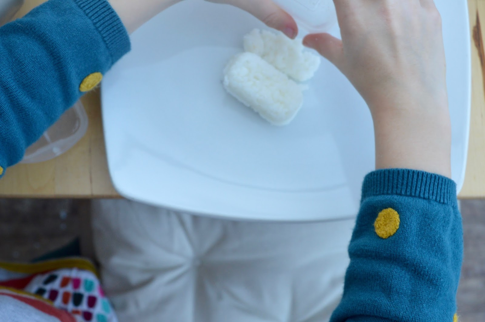 Sushi Making With Kids - A Tutorial for Beginners with Yutaka - how to mould sushi