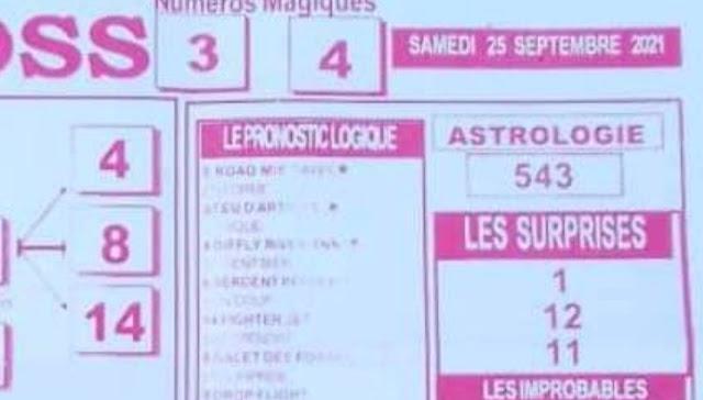 Pronostics quinté pmu samedi Paris-Turf TV-100 % 25/09/2021