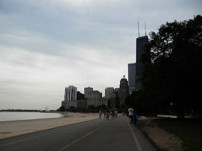 Oak Street Beach Gold Coast à Chicago