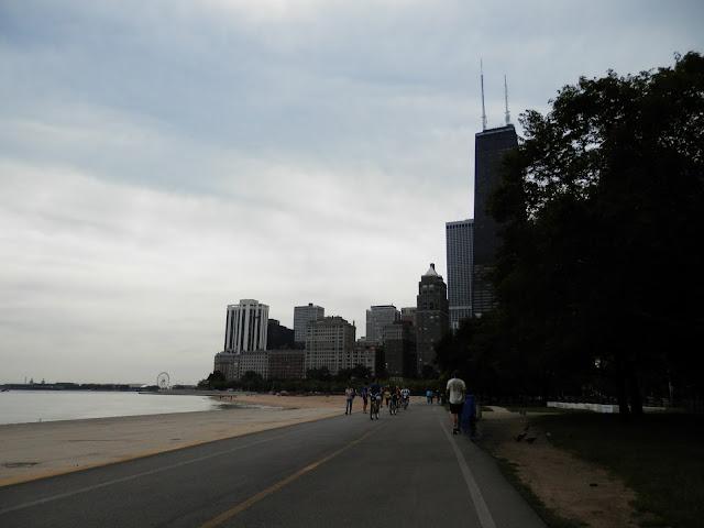Oak Street Beach Gold Coast à Chicago
