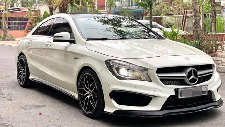 'Xe đua' Mercedes CLA 45 AMG rớt giá 1,5 tỉ đồng sau 6 năm sử dụng