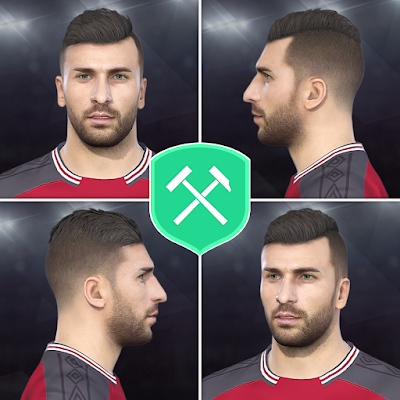 PES 2018 Faces Mikael Ishak by Volun