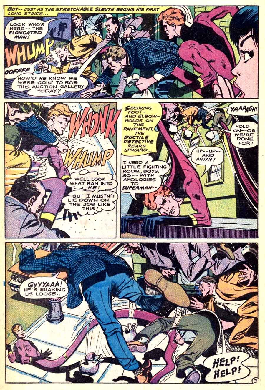 Detective Comics #369 dc silver age comic book page art by Neal Adams