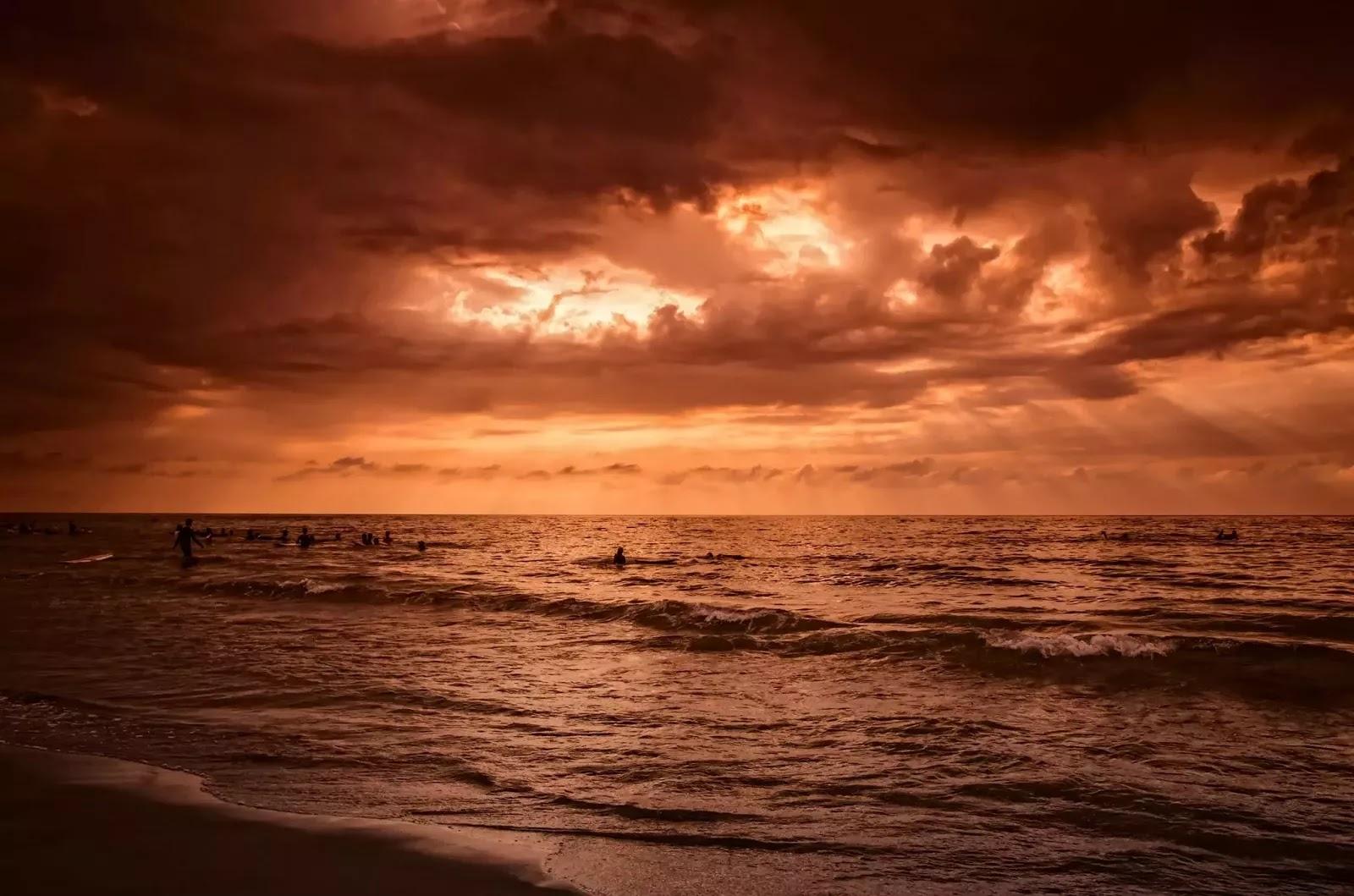San Juan Coastal Surfing Dusk