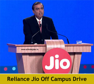Reliance Jio Off Campus