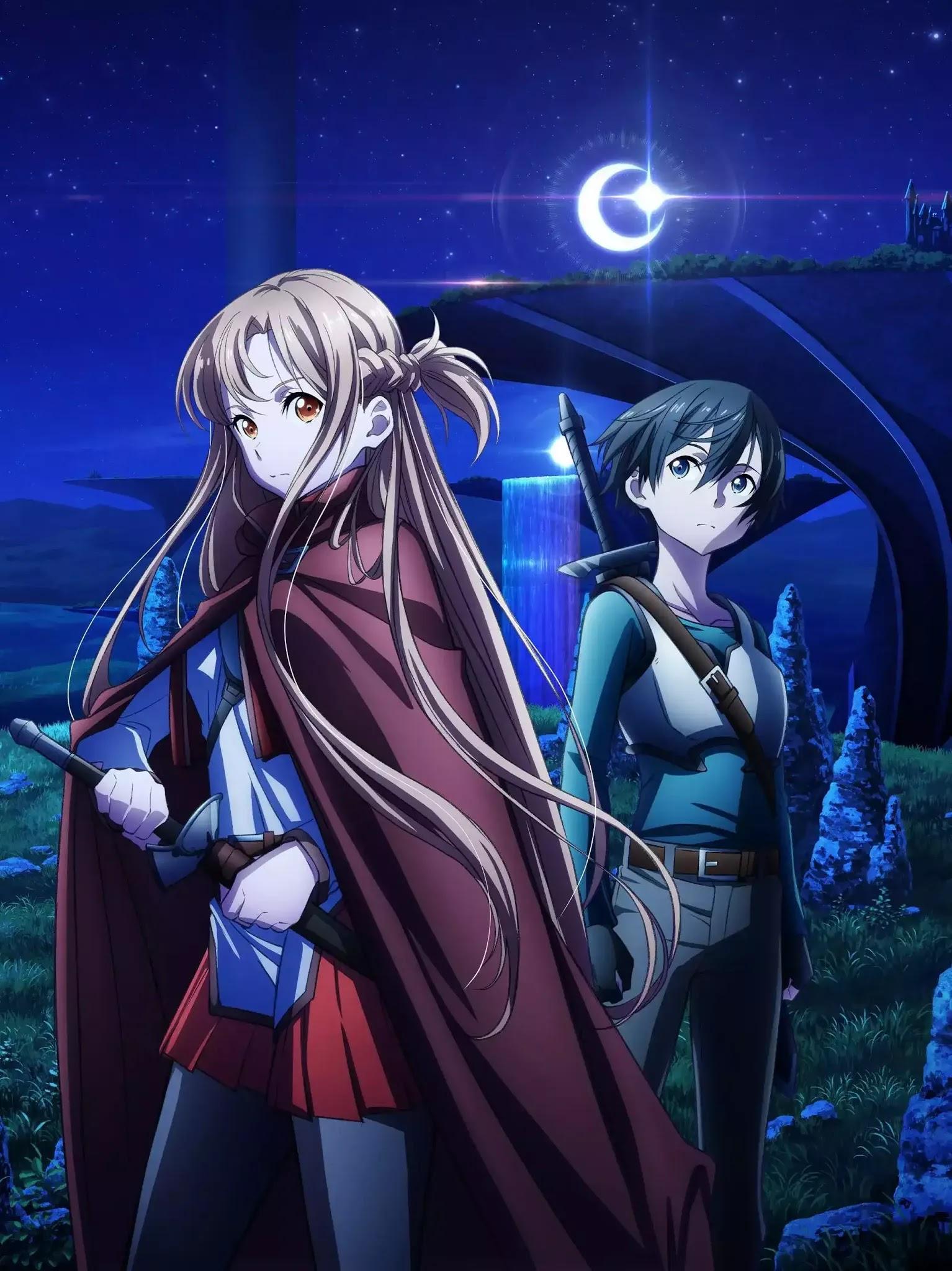 فيلم أنمي Sword Art Online: Progressive Hoshinaki Yoru no Aria