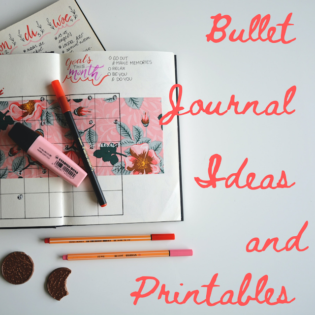 Bullet Journal Ideas and Printables to Keep All Aspects of Your Life on Track