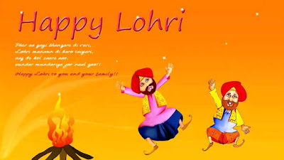 Image result for happy lohri 2017 status