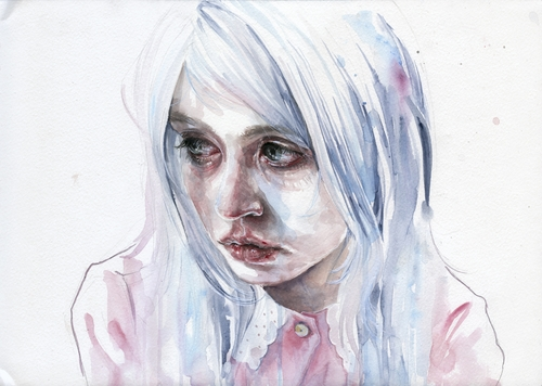 03-Allison-Harvard-Silvia-Pelissero-agnes-cecile-Watercolor-and-Oil-Paintings-Fading-and-Appearing-www-designstack-co