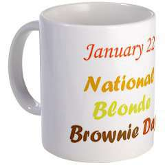 National Blonde Brownie Day Wishes Images