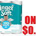 EXPIRED!!!  9 Rolls of Angel Soft Toilet Paper only $0.99 + Free Pickup at Walgreens