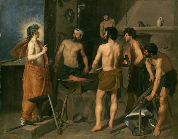Диего Веласкес - Кузница Вулкана (ок.1630)
