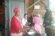 Babinsa Koramil 420-05/Jangkat selalu mengajak warga tetap patuhi prokes