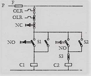 Manual Sequence Control of Single phase Motors