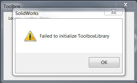 SOLIDWORKS Database is Missing! Complete functionality will