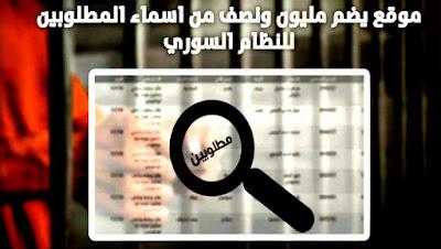 قائمة جديدة بنصف مليون شخص مطلوب للنظام السوري للخدمة الاحتياطية