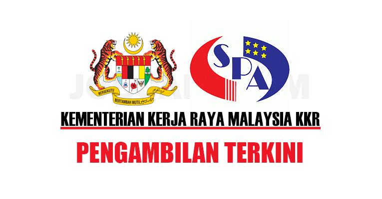 Jawatan Kosong di Kementerian Kerja Raya Malaysia