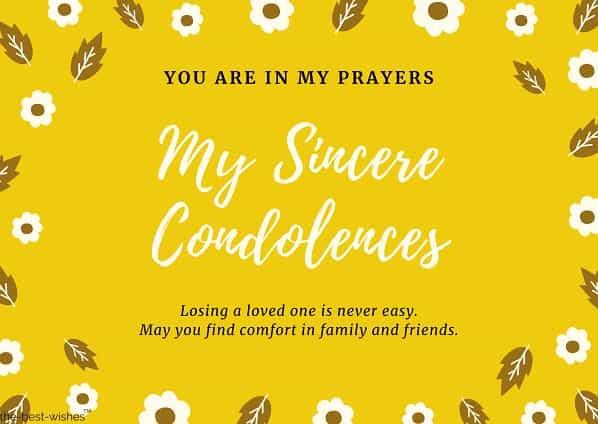 condolence messages islam