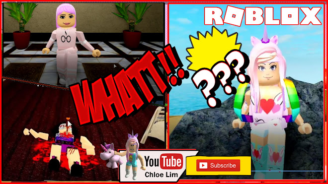 Roblox Murder Island Gameplay! I survived both times! Fun Murder and Detective Game!