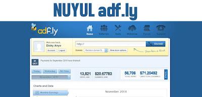 Cara Mendapatkan Ribuan Dollar dari Adf.ly