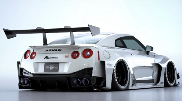 kit de carrocería Liberty Walk Nissan GT-R