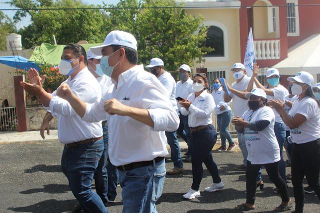 No me voy a cansar de recorrer las calles de Yucatán: Liborio Vidal