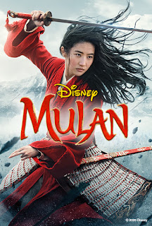 Movie Reviews and GIVEAWAY: Mulan (1998) vs. Mulan (2020) - ends 11/22