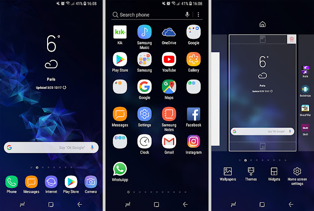 افضل لانشر تحويل هاتفك لاحدث اصدار اندرويد S9 2019