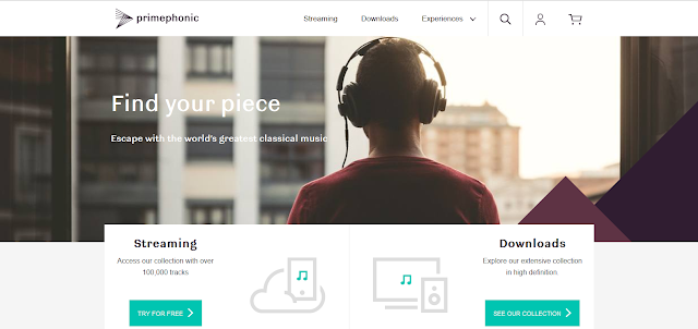 Primephonic streaming service