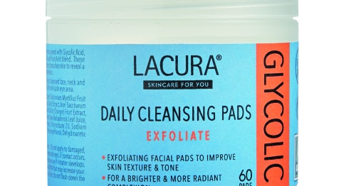Beauty Bargain: Aldi Beauty Lacura Glycolic Acid Exfoliate Daily Cleansing Pads