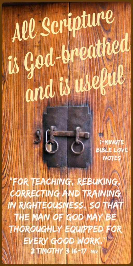 Authority of Scripture, trusting the Bible