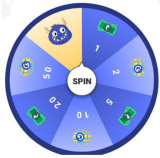 Spin and while Earn money