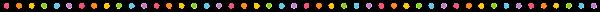 ドットのライン素材(カラフル)