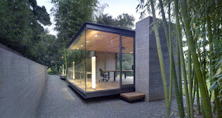 Tea house Design ground and cliff